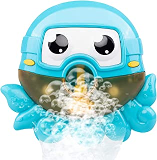 FunPa Bath Bubble Maker Animal Bathroom Toy Bubble Blower Machine for Bathtub Shower