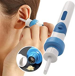 Electric Cordless Ear Pick Safe Vibration Painless Earwax Cleaner Remover Spiral Ear Wax Removal Cleaning Device Dig Wax P...