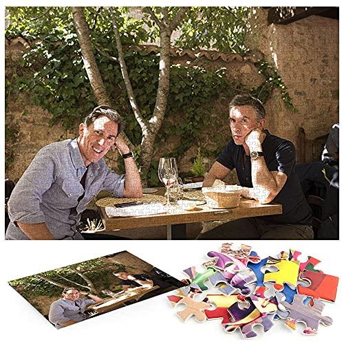 Puzzle Per Adulti 1000 Pezzi Viaggio in Spagna Steve Coogan rapina Brydon 1000 Libri Per Risolvere Enigmi Per Bambini Di Età Superiore A 8 Anni