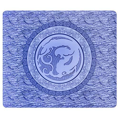 Esports Tiger Qinsui 2 Gaming Mauspad gros blau extra Plusch 6 mm dick 480 x 400 x 6 mm