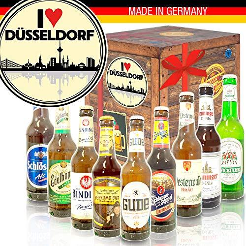 I love Düsseldorf/Geburtstagsüberraschung Düsseldorf/Deutsches Bierset