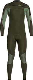 Quiksilver Mens 3/2Mm Syncro - Chest Zip GBS Wetsuit for Men Chest Zip GBS Wetsuit