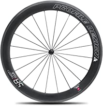 Profile Designs 58/TwentyFour Full Carbon Clincher Road Bicycle Wheel - Front