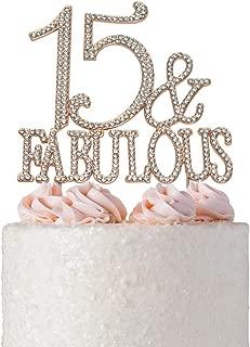 Best 15th birthday cake Reviews