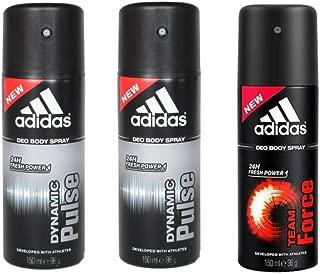 Adidas Dynamic Pulse-2 and Team Force Deodrant Body Spray