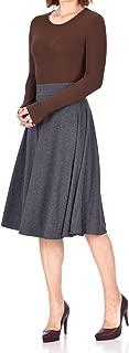 Beautiful Flowing A-line Flared Swing Midi Skirt
