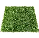 BYCDD Gazon Artificiel Synthétique pour Le Golf, 10mm Réaliste et Doux Fausse Pelouse Non Toxique Tapis de Pelouse Artificielle (Plusieurs Tailles),Green_2x2m/6x6ft