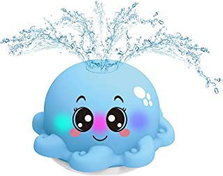 SOWUNO Spray Water Toy Electric Portable Cute Animal Safe Funny Bathtub Toy Shower Toy for Child Plastic Portable Safe Smo...