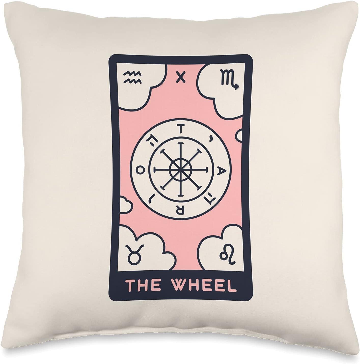 Tarot Ranking TOP11 Designs Accessories Card The Wheel Pillow 1 Throw
