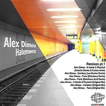 Halemweg Remixes, Pt. 1