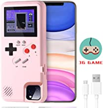 LucBuy Gameboy Case for iPhone, Retro Protective Cover Self-Powered Case with 36 Small Game,Full Color Display,Shockproof ...