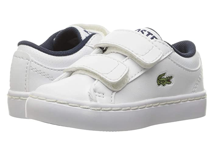 6db36fa740 Lacoste Kids Straightset (Toddler/Little Kid) | Zappos.com