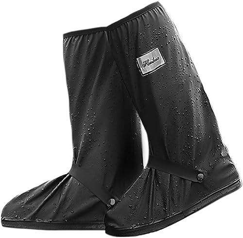 NATUCE Couvre-Chaussures Imperméables pour Homme Femme, Surchaussures Imperméable, Couvre-Chaussures Réutilisables Se...