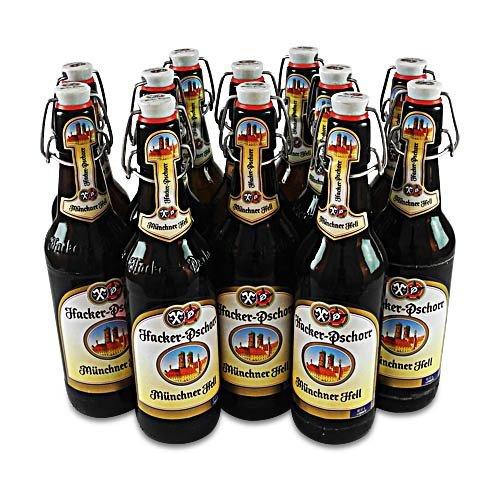 Hacker-Pschorr Münchner Hell (12 Flaschen à 0,5 l / 5,0% vol.)