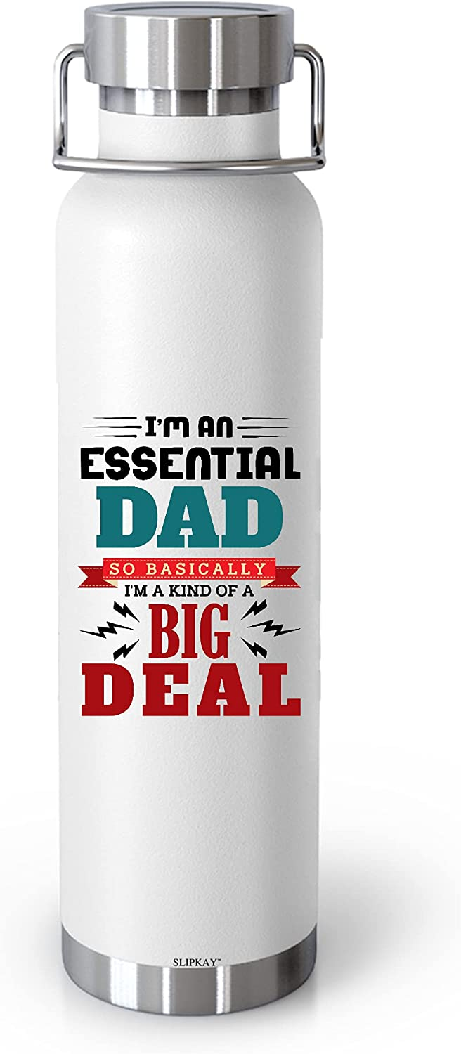 Essential Dad A Kind Of Max 64% OFF Big Deal Insulated specialty shop Vacuum Wh 22oz Bottle