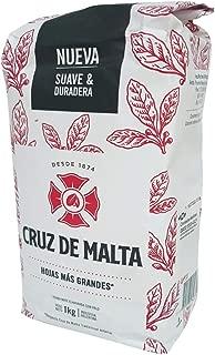 Yerba Mate Cruz de Malta, 2.2 Lbs each bag, 3-pack