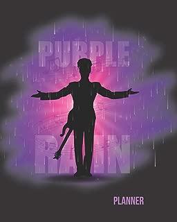 Purple Rain Planner: 52- Week Motivational Planner