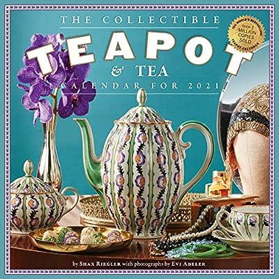 Collectible Teapot & Tea Wall Calendar 2021