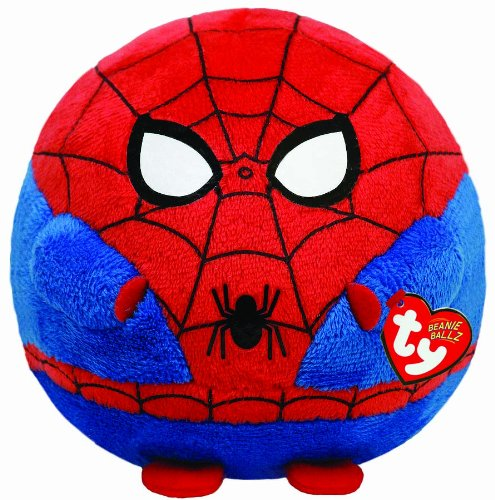 Product Image of the Ty Beanie Ballz Spiderman Plush - Large
