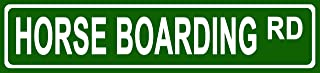 horse boarding signs