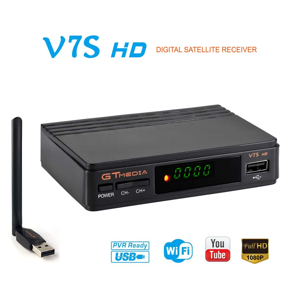 GTMEDIA Satellite Receiver Digital Decoder