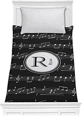 RNK Shops Musical Notes Comforter - Twin XL (Personalized)