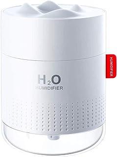 Luftbefeuchter schlafzimmer, 500 ML Mini Ultraschall Air Humidifier Leise Raumluftbefeuchter-Bis zu 10-16 Stunden Dauerbet...
