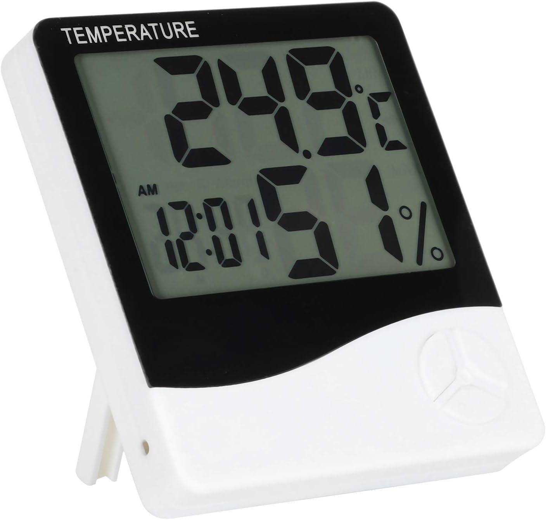 outlet Detroit Mall DAUERHAFT Large Display Screen Gauge Indoor Temperature for