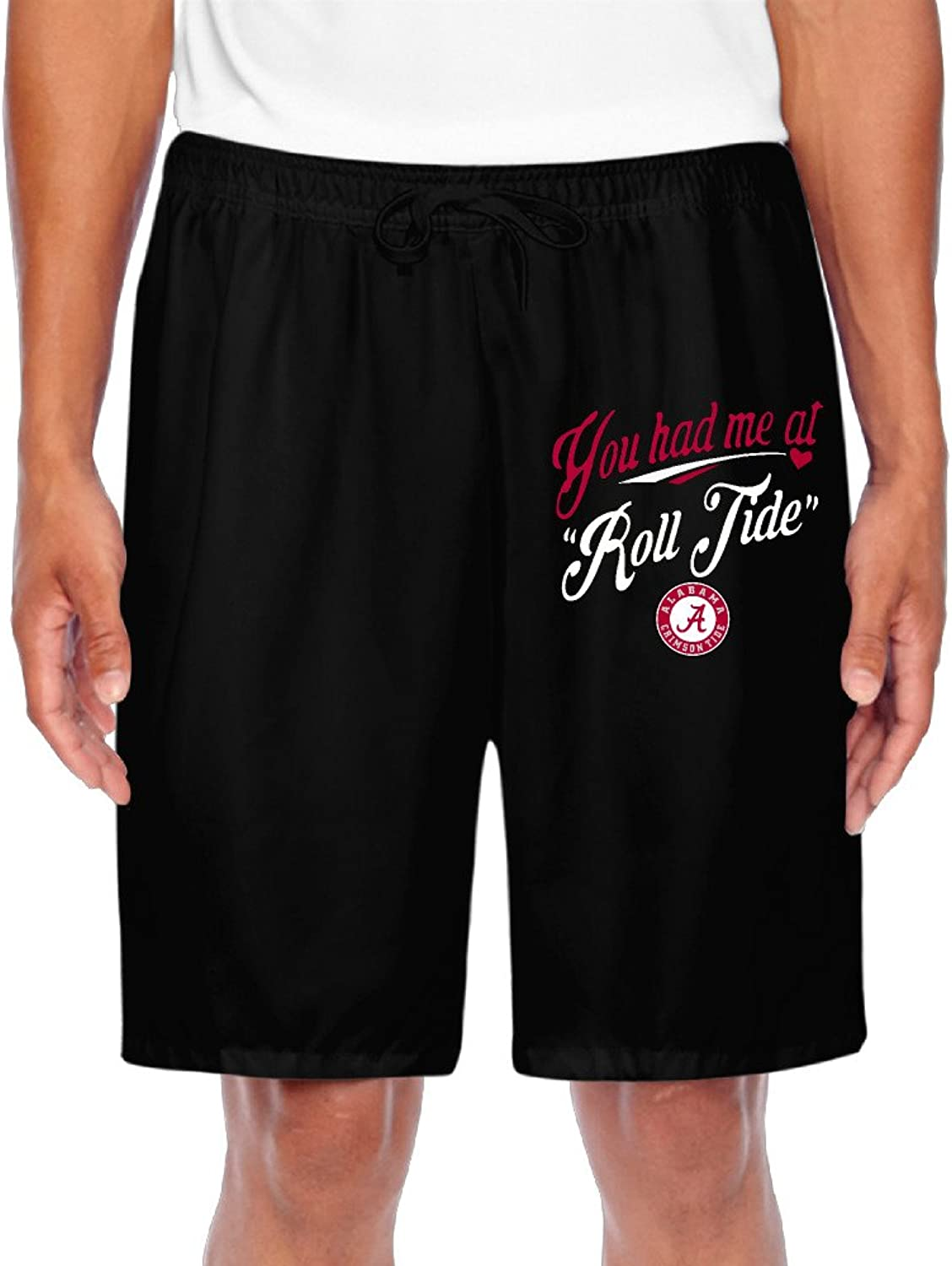 Men's You Had Me At Roll Tide Shorts Gym