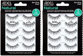 Ardell False eyelashes #110 Black, 5 Pairs x 2 Packs