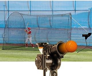 Deportes tendencia calentador Pitcher inicial máquina de picheo y Cuadrangular jaula de bateo
