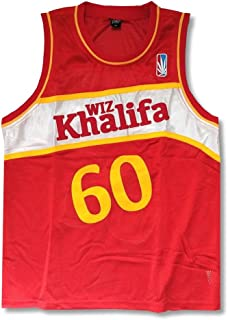 Wiz Khalifa Taylor Gang 60 Red Basketball Jersey Shirt
