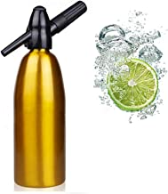 DYJD 1L Soda Siphon Bouteille Maker Soda Stream Machine, Accueil Boisson Jus Bar Bière Siphon Machine Bar Technique Outil,...