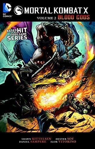 Mortal Kombat X Vol. 2: Blood Gods by Shawn Kittlesen(2015-10-20)