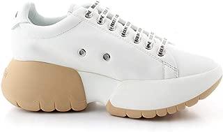 Ruco Line Luxury Fashion Womens 1454WHITEBEIGE White Sneakers | Fall Winter 19