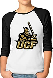 Womens University Of Central Florida Raglan Baseball T-Shirt