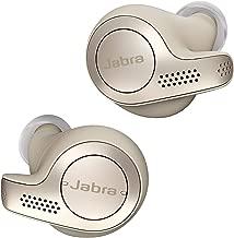 Jabra Elite 65t Alexa Enabled True Wireless Earbuds with Charging Case – Gold Beige (Renewed)