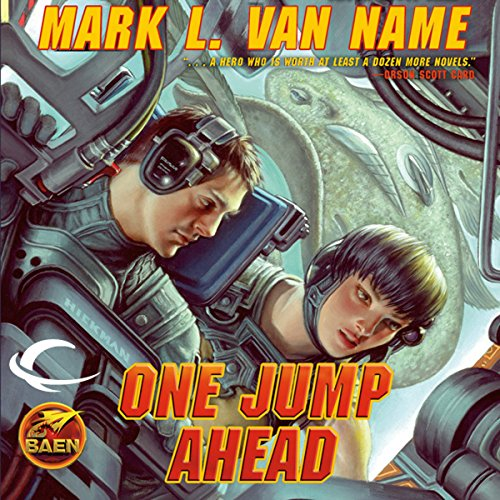One Jump Ahead audiobook cover art