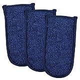 DII CAMZ34357 100% Cotton Terry Pan Handle Set Machine Washable, Heat Resistant, 6 x 3, Nautical...