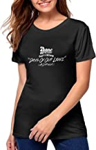 Slim Fit Soft Bone Thugs N Harmony Days of Our Lives T Shirts for Women Great to Exercise Work Out Custom Gift Tee Black
