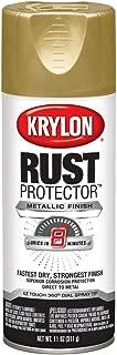 Krylon K06930000 Rust Protector Metallic Paint, Gold