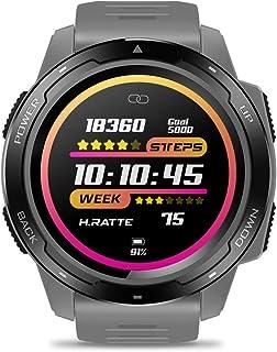 ساعة ذكية DoCooler VIBE 5 للإناث/ذكر سوار ساعة رقمية ذكية IPS شاشة ملونة بدقة 240 × 240 بكسل IP67 مقاومة للماء ومعدل ضربات...