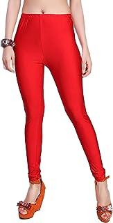 Maaher Fashion Womens Full Lenth Leggings   Shiny Leggings Free SIze