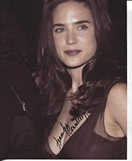 * JENNIFER CONNELLY * very sexy see thru signed 8x10 photo / UACC Registered Dealer # 212