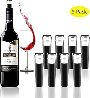 Vacuum Wine Bottle Stopper for Wine Saver,Reusable Wine Corks,Vacuum WIne Pump Beverage Champagne Bottle Stopper to Preserve Wine Fresh