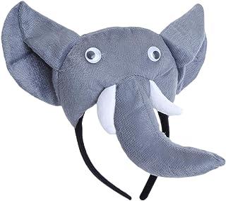 Amosfun Cerchietto con Orecchie Forma Elefante cerchietti per Capelli per Bambina Adulti
