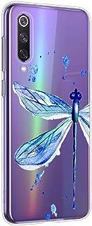 Funda Transparente Compatible para Xiaomi Redmi 8,Carcasa Suave Silicona TPU Gel Dibujos Animal Ultra Fina Anti Choques y Anti Arañazos Clear Bumper Case Cover para Xiaomi Redmi 8,A18
