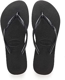 Women's Flip Flop Sandals, Black(Black), 5 UK (39/40 EU 37/38 BR)
