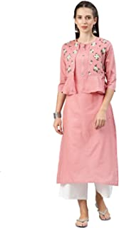ALENA Women's Cotton Regular Kurta