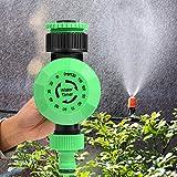 Delaman Automatischer Bewässerungs-Timer, 2-120 Minuten, Gartenschlauch, Wasser-Timer, Bewässerungsregler, automatische Abschaltung